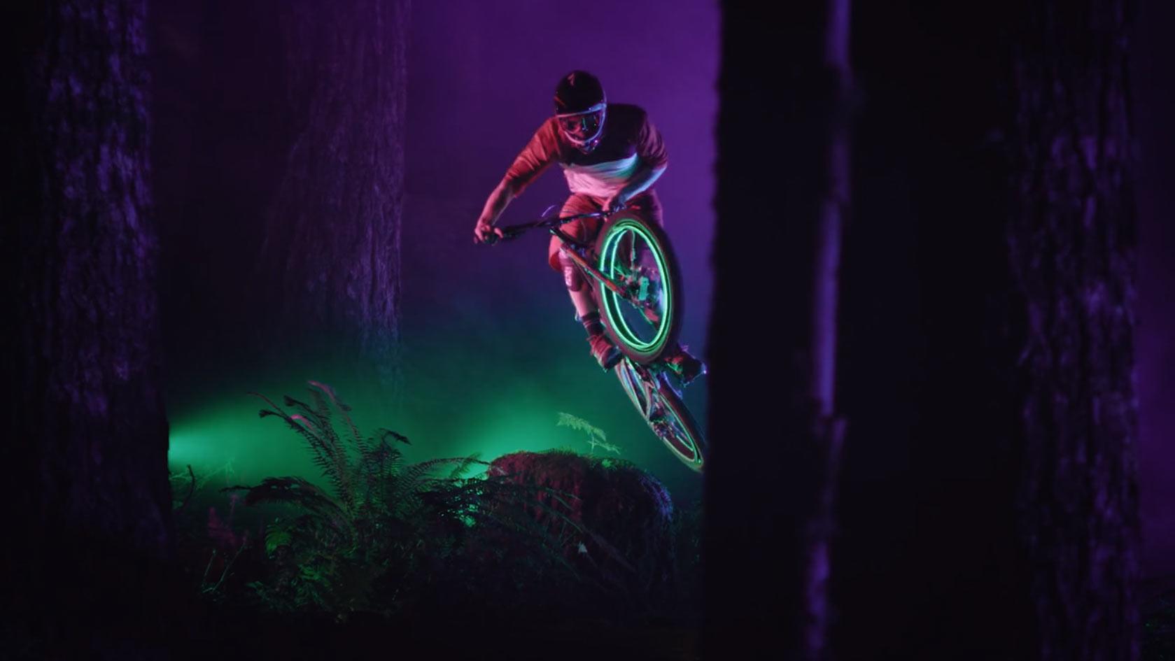 Sweetgrass Productions Darklight Bike Film Screenshot