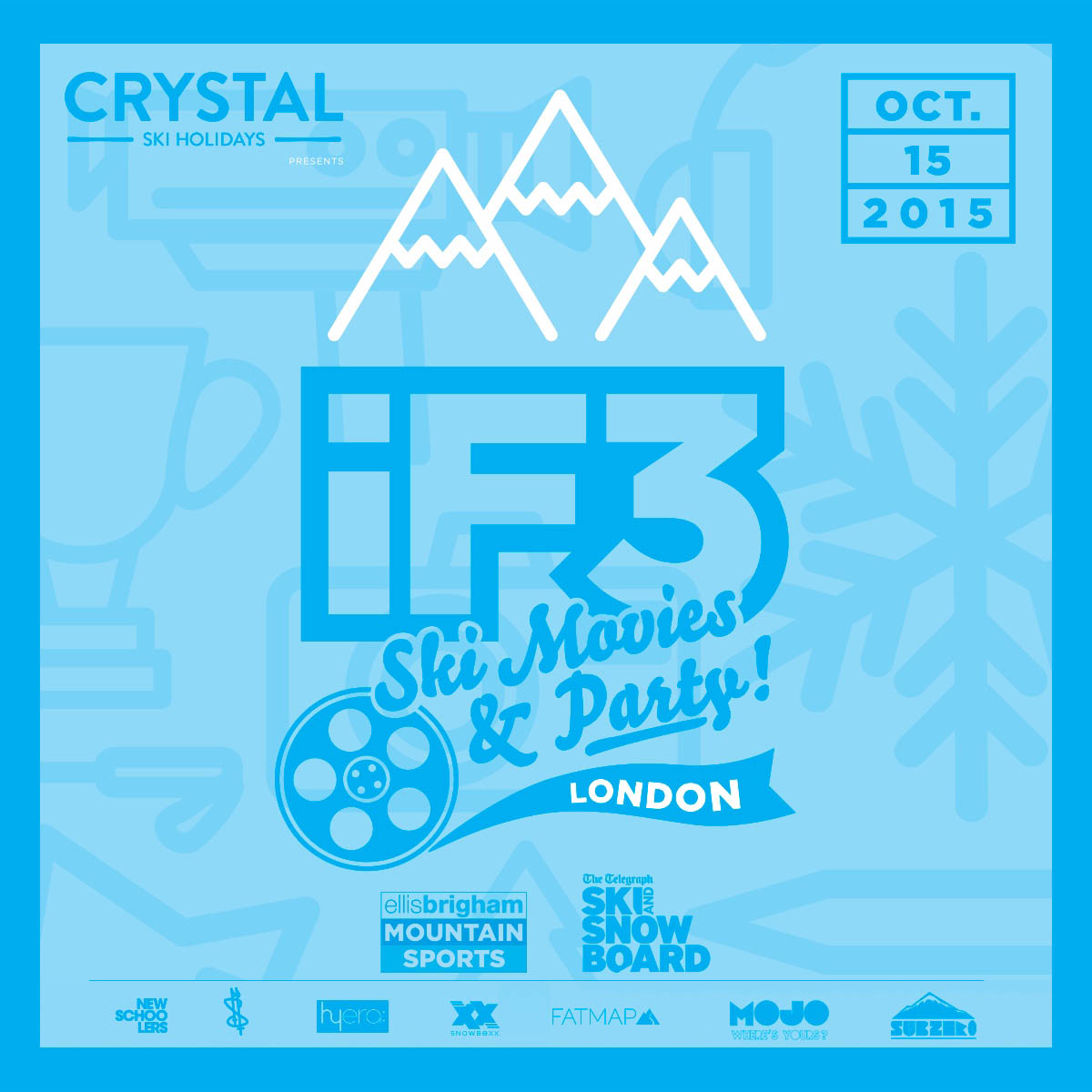 iF3 London poster square